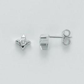 orecchini punto luce diamanti miluna.art.213